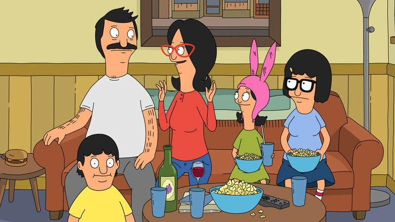 Illustration for article titled Enjoy a delicious double helping of Bob's Burgers