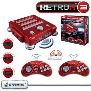 Illustration for article titled RetroN 3 Can Play NES, SNES or Genesis Carts With All Three Original Controllers
