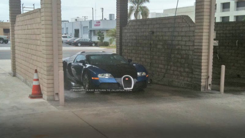 Cheap bugatti owner takes veyron to coin operated car wash even nearly seven years after its introduction the multimillion dollar bugatti veyron is still the pinnacle of automotive engineering enough so that solutioingenieria Image collections