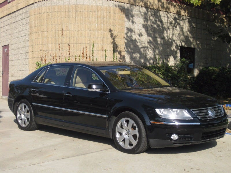 2004 volkswagen phaeton w12 sedan on ebay. Black Bedroom Furniture Sets. Home Design Ideas