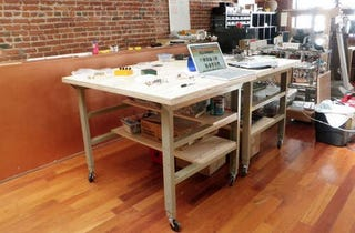 Illustration for article titled Build a Simple Workbench for a Spacious Standing Desk