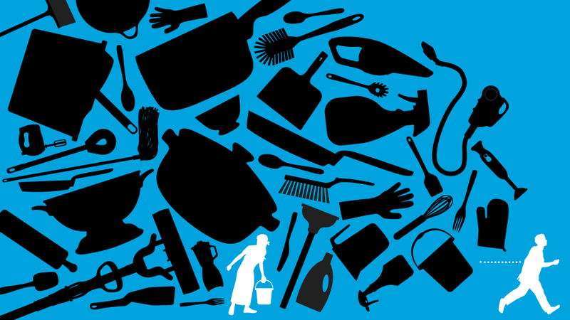 Illustration for article titled Any Man Who Won't Clean Is a Terrible Asshole (Or Old, or Both)