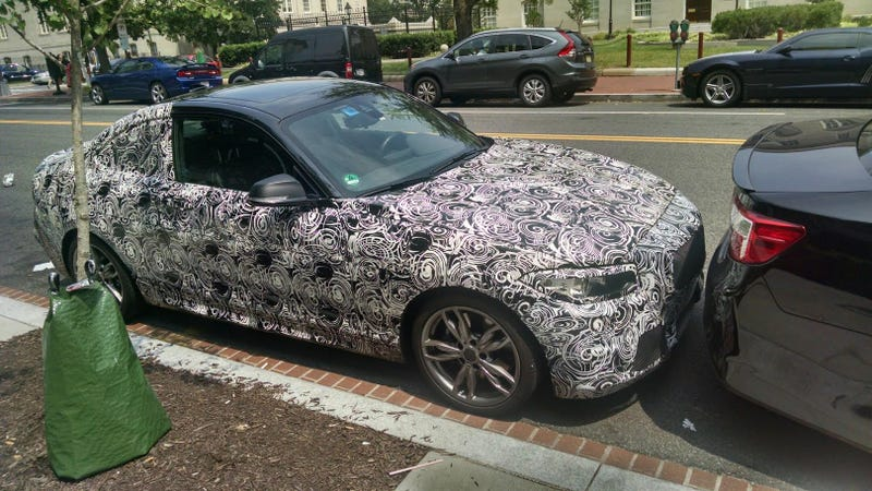 Illustration for article titled What Is This Mysterious BMW 2-Series Prototype Doing In Washington D.C.?