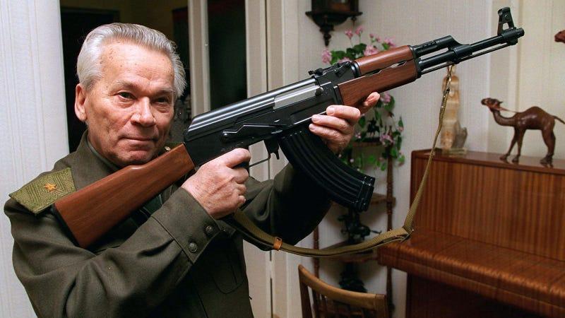 Illustration for article titled Mikhail Kalashnikov Has Died