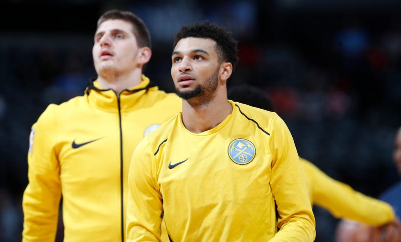 Illustration for article titled The Bond Between Jamal Murray And Nikola Jokic Is Pure And Righteous