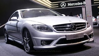 Illustration for article titled Dutch Treat: Mercedes CL65 AMG Revealed in Amsterdam