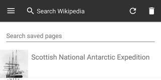 Save Wikipedia Articles to Your Phone For Offline Access