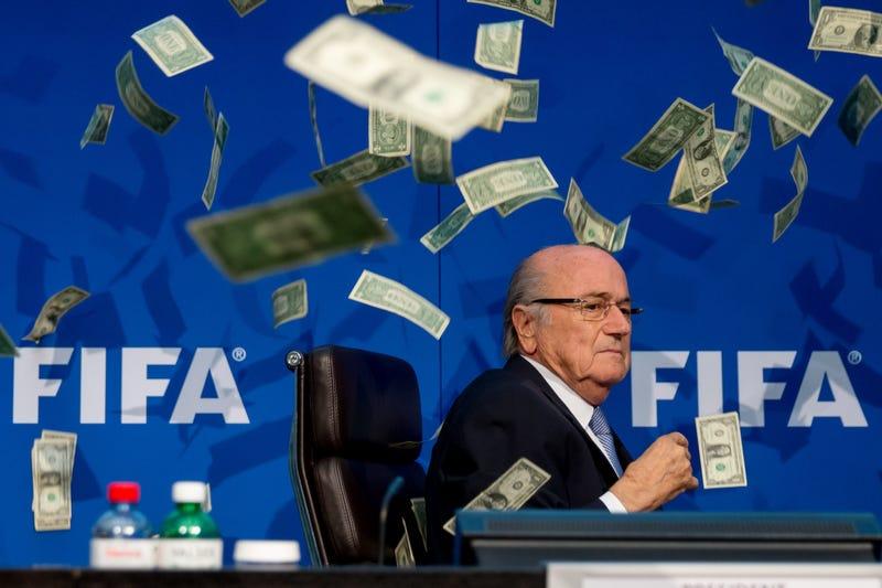 Illustration for article titled Report: Sepp Blatter Made $3.6 Million In 2015 As FIFA President
