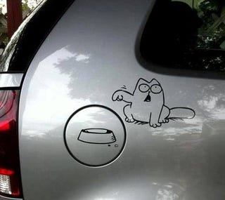 Illustration for article titled Simon's Cat knows the principle.