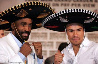Illustration for article titled Casamayor and Marquez Clash For the Title, Guzman Fails to Make Weight