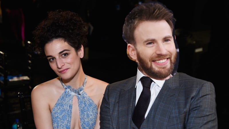 Chris Evans and Jenny Slate 'very much back together'