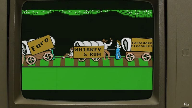 Illustration for article titled An R-rated Oregon Trail would be full of death, disease, and debauchery