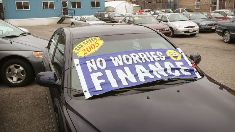 Illustration for article titled Auto Lenders Cutting Back Loans To Sub-Prime Customers
