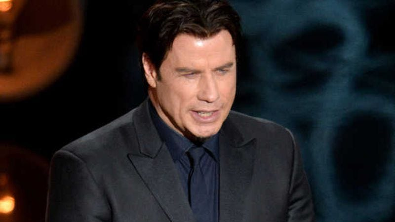 Illustration for article titled John Travolta performs self-auditing on his past Oscars mistakes
