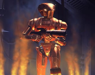 Illustration for article titled Robots We Love: HK-47