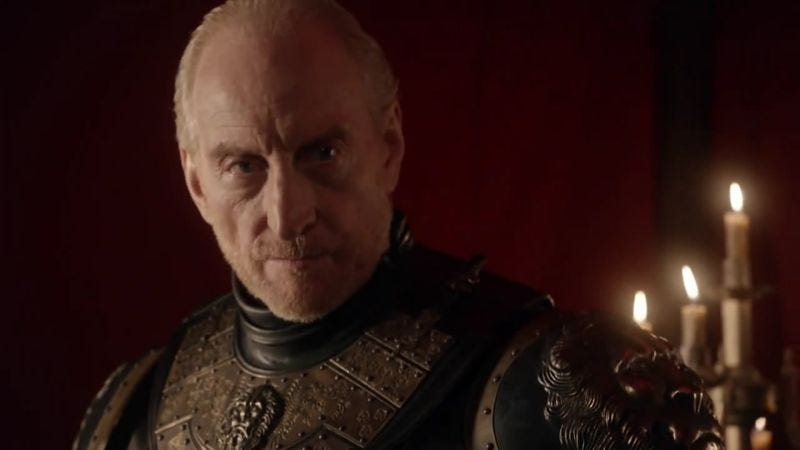 Illustration for article titled Charles Dance Charles Dances around his future on Game Of Thrones