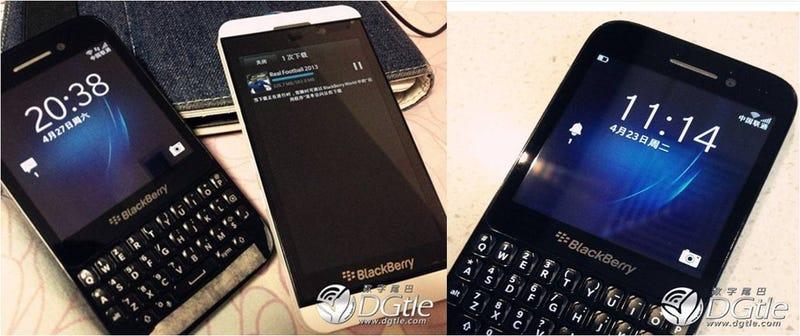 Illustration for article titled ¿Es este el próximo smartphone de BlackBerry?