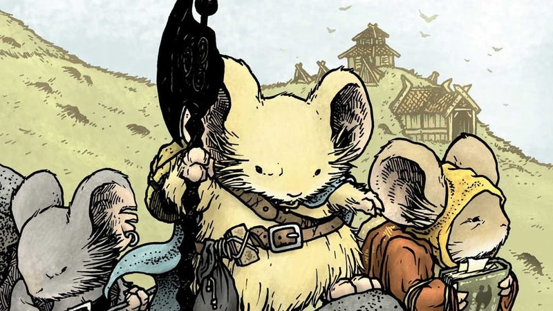 Celanawe in Mouse Guard.