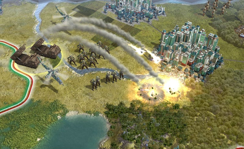 Illustration for article titled Civilization V's Screenshots Are Taking Over Our World