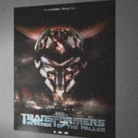 Illustration for article titled Is This The First Poster From The New Transformers Movie?