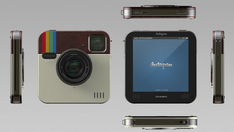 Illustration for article titled Most Dickheads Would Buy This Facebook Instagram Concept Camera If It Were Real