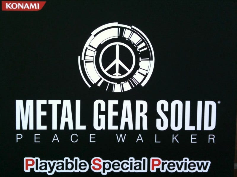 Illustration for article titled Metal Gear Solid: Peace Walker Preview: Competitors, Take Notes