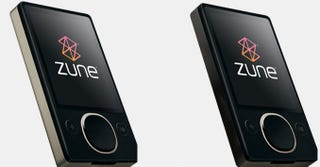 Illustration for article titled New Zune Colors Make the Beast With Two Black Backs