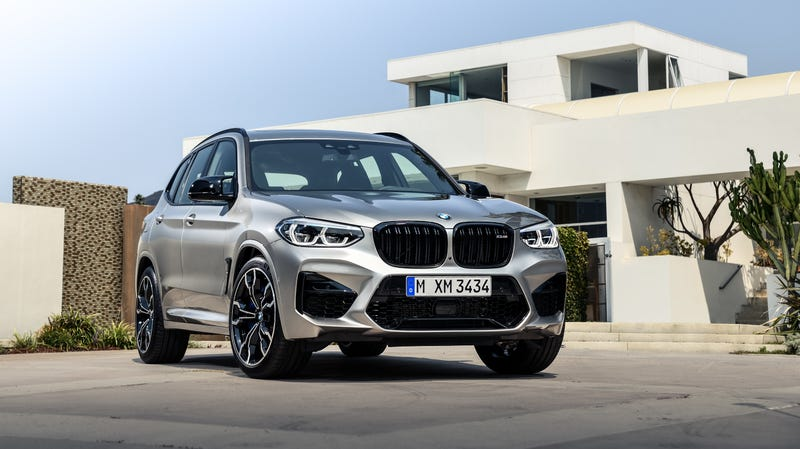 Illustration for article titled 2020 BMW X3 M and BMW X4 M: We Are Powerless to Stop These 500-HP SUVs