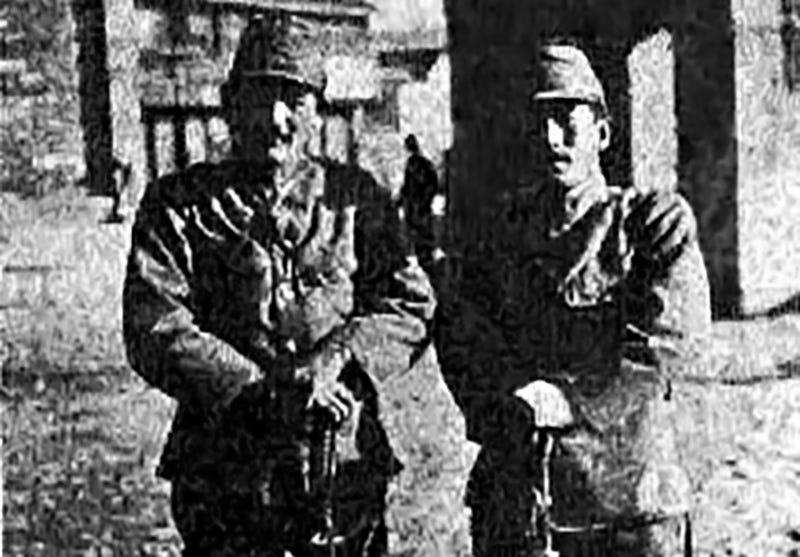 Illustration for article titled La macabra apuesta de dos soldados japoneses por ver quien mataba a más personas con su espada