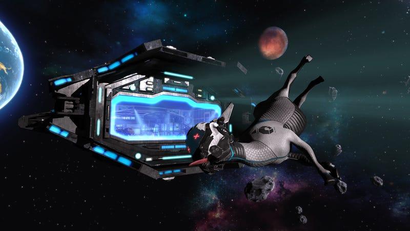Goat Simulator Is Still Around, Now Making Fun Of Star Citizen