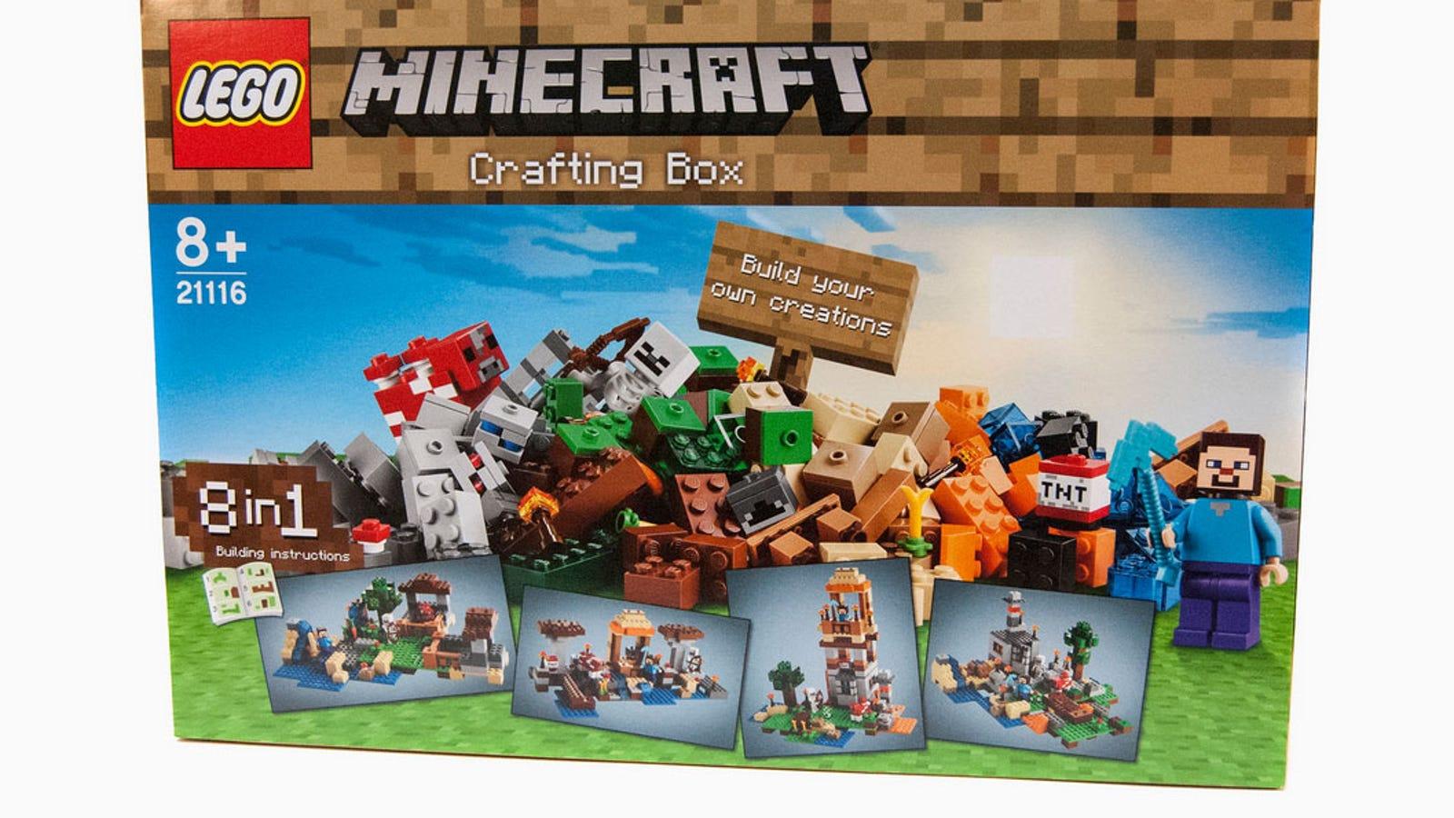 New Minecraft Lego Kinda Misses The Point Of Lego