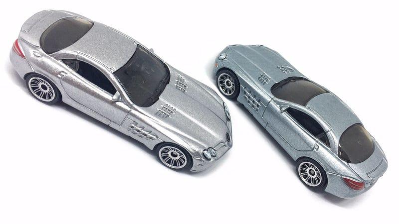Illustration for article titled Matchbox Mercedes-Benz SLR McLaren. 2009 vs 2016