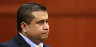 George Zimmerman on the 20th day of his trial (Pool/Getty Images)