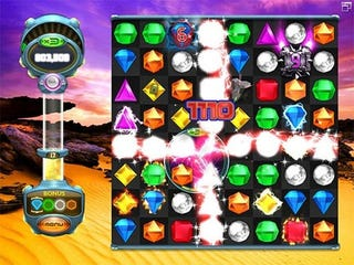 Illustration for article titled Bejeweled Twist Launches, Revolutionizes Gem Swapping