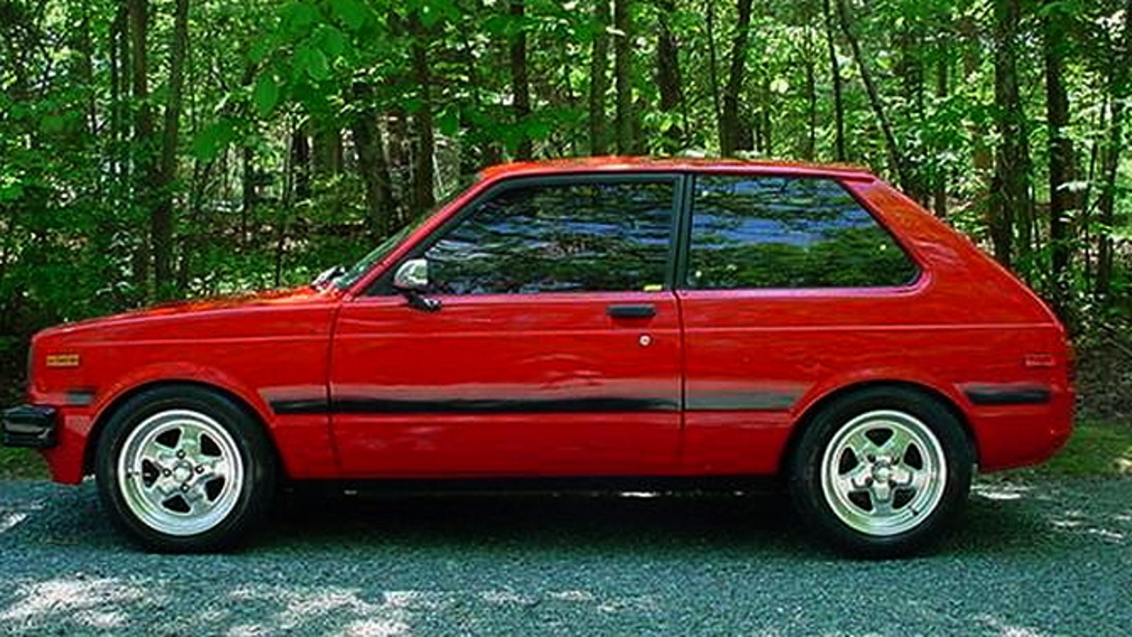 For 7 500 This Rotary Powered 1981 Toyota Starlet Is Your Red Dwarf
