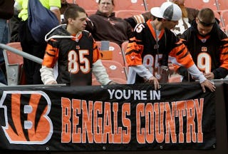 Illustration for article titled Bengals Country Is Experiencing Rapid Growth: Your NFL Late Games Open Thread