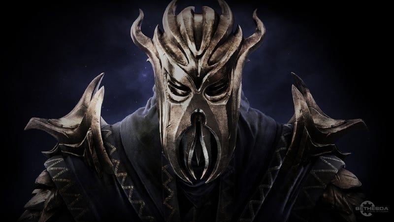 Illustration for article titled Skyrim's 'Dragonborn' DLC Gets a Trailer on Monday
