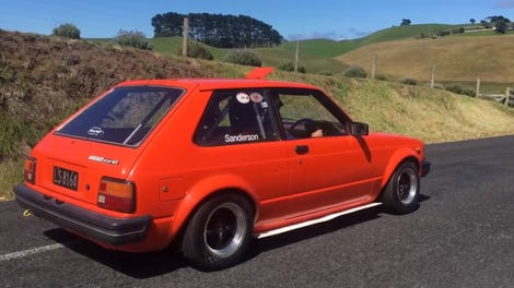 Let This Screaming GSX-R1000 Swapped Fiat X1/9 Echo Off Every Hill