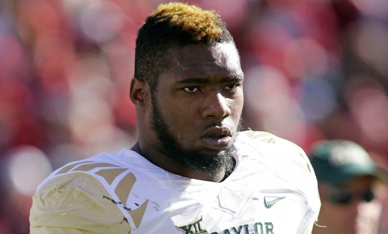 Illustration for article titled Former Baylor Star Shawn Oakman Found Not Guilty Of Sexual Assault