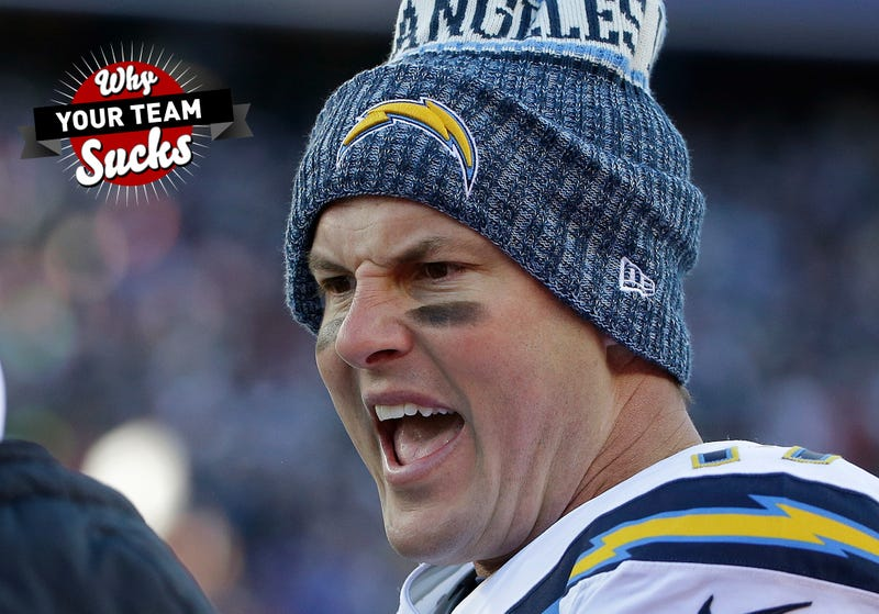 Illustration for article titled Why Your Team Sucks 2019: Los Angeles Chargers