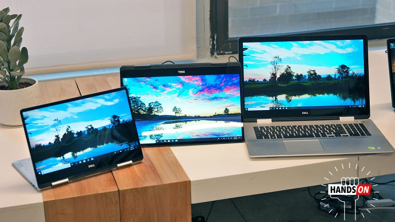 Illustration for article titled Dell's Newly Revamped Inspirons are More Than Just Better Looking Midrange Laptops