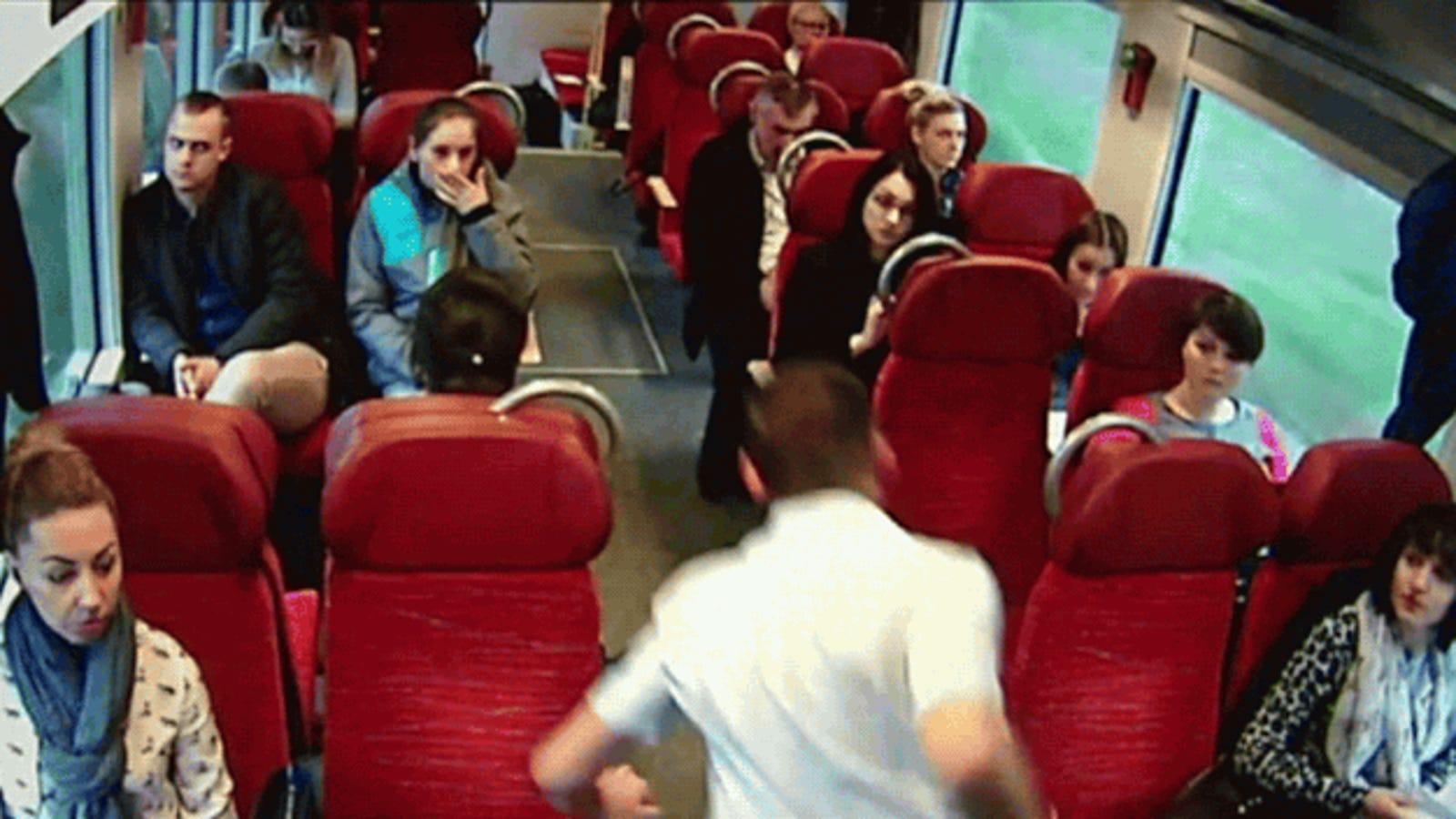 El maquinista que evitó una tragedia corriendo a toda velocidad por el tren
