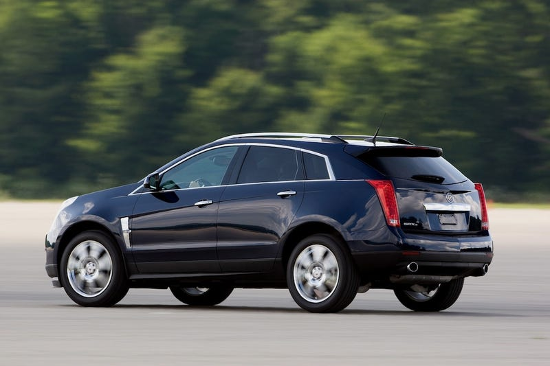 Illustration for article titled 2010 Cadillac SRX AWD: Mom's First Drive
