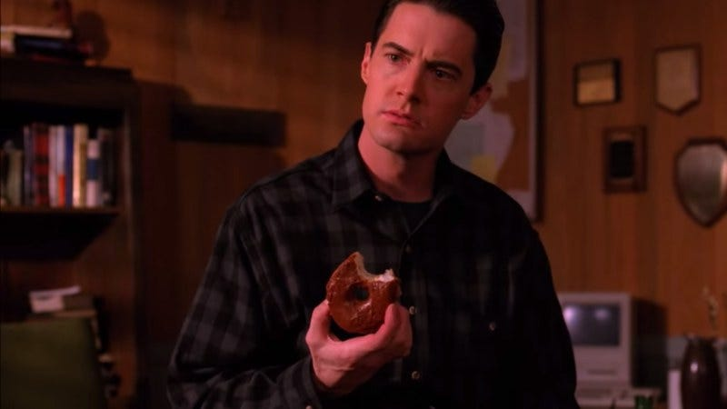 Illustration for article titled Celebrate National Doughnut Day with a Twin Peaks supercut