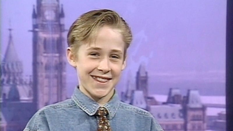 Illustration for article titled Aww! Watch Wittle 12-Year-Old Ryan Gosling on Canadian TV