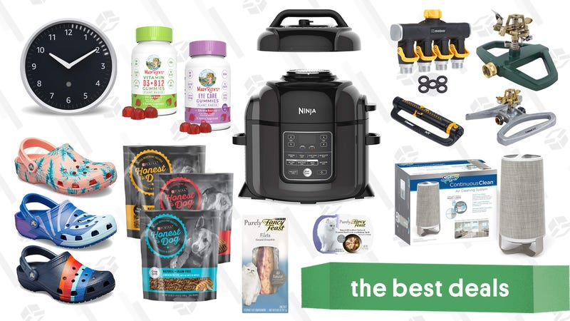 Illustration for article titled Wednesday's Best Deals: Instant Pot, Sonos, Purina Pet Food, and More