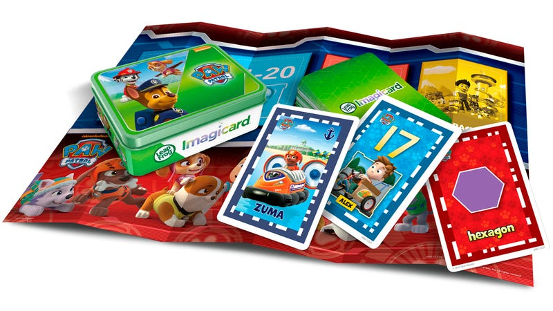 Illustration for article titled Kids Can Bring LeapFrog's New Interactive Flash Cards Into Their Tablets