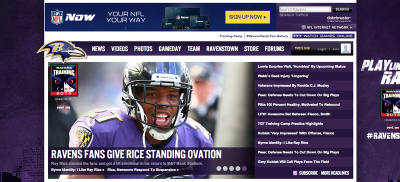 Illustration for article titled The Ravens Are Trying To Make Us Like Ray Rice Again