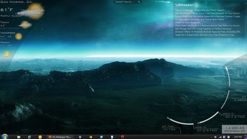 Illustration for article titled The Aurora Desktop