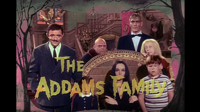 Illustration for article titled The Addams Family opening gets a color makeover